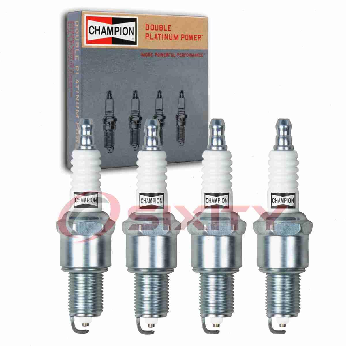 6x Champion Spark Plug RE10PMC5