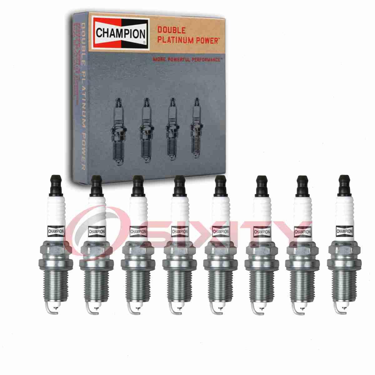 4 pc Champion Copper Spark Plugs for 1968-1971 International M800 Auto Pre ux