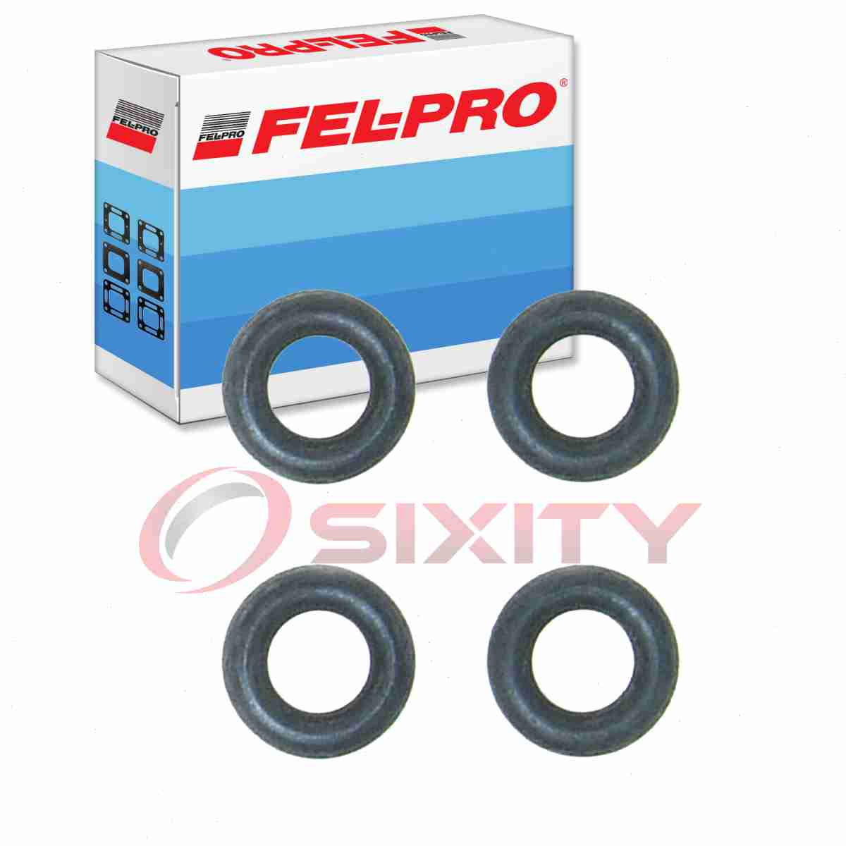 Fel-Pro Fuel Injector O-Ring Kit for 2001-2017 Ford Escape 2.0L 2.3L 2.5L ce
