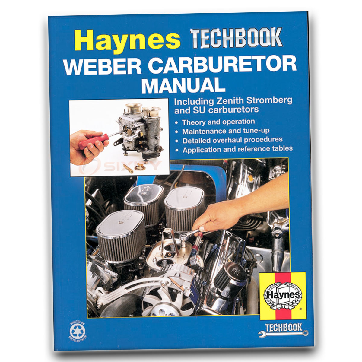 Haynes Repair Manual 10240 for Weber Zenith Stromberg SU Carbs Shop Service  sg