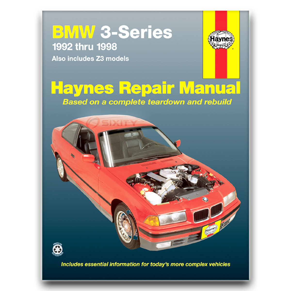 Haynes Repair Manual 18021 for BMW 3-Series Including Z3 92-98 Shop Service  ne