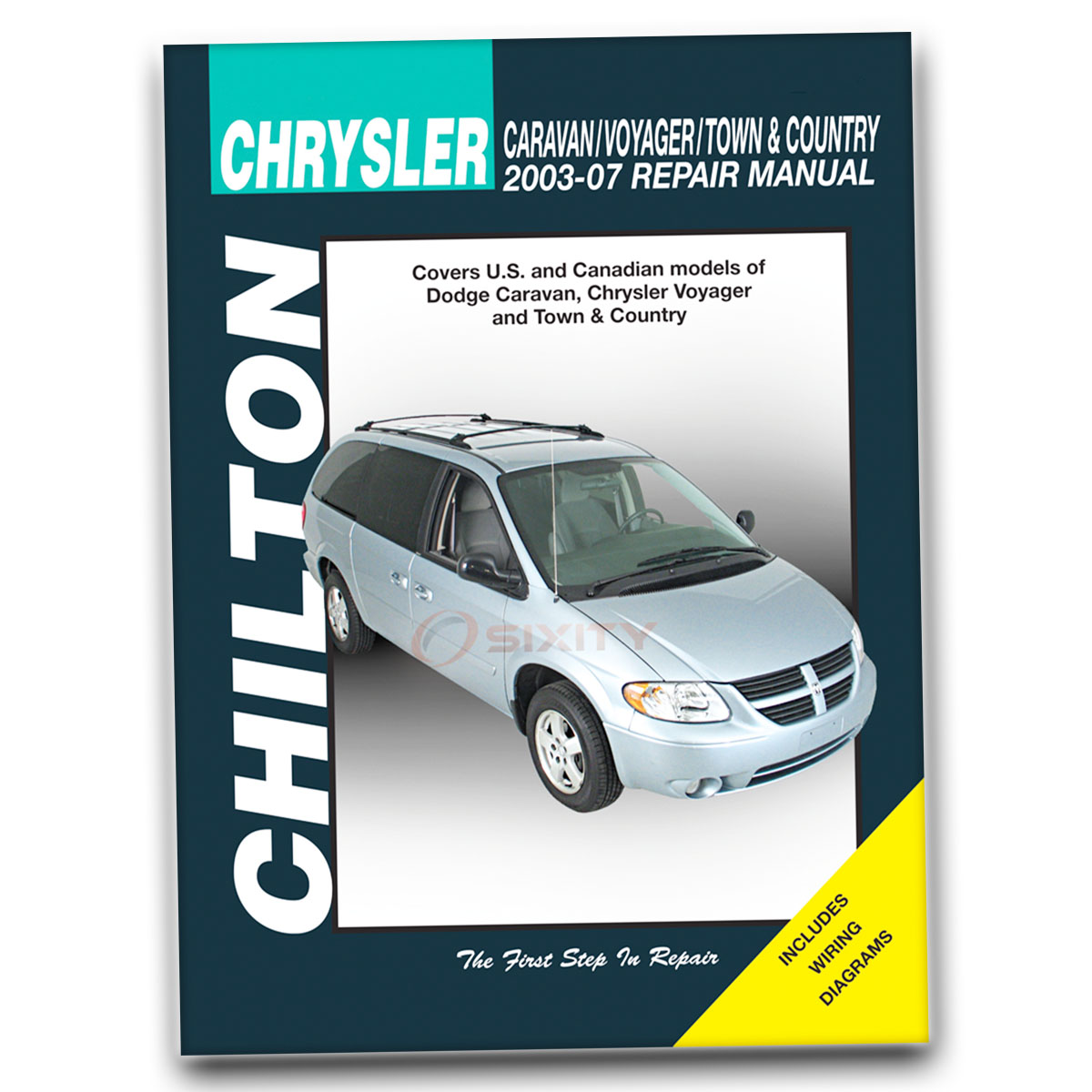 Chilton Repair Manual 20303 for Dodge Caravan Voyager Town Country 2003-07  ad