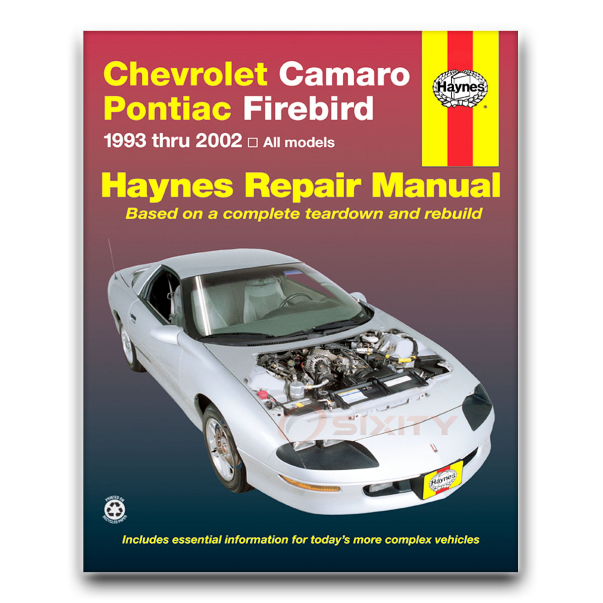 haynes chevrolet camaro pontiac firebird 93 02 repair manual 24017 rh ebay com pontiac firebird manual for sale pontiac firebird manual v6