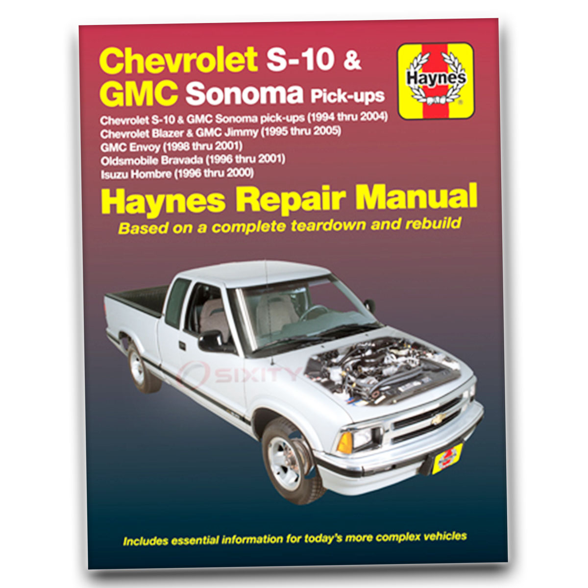Haynes Repair Manual 24071 for Chevrolet S-10 94-04 GMC Envoy 98-01 Shop ky