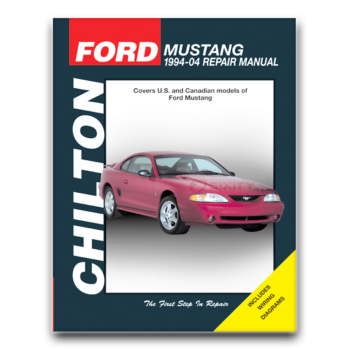 Chilton Repair Manual 26608 for Ford Mustang 1994-04 Shop Service Garage  Boo vt