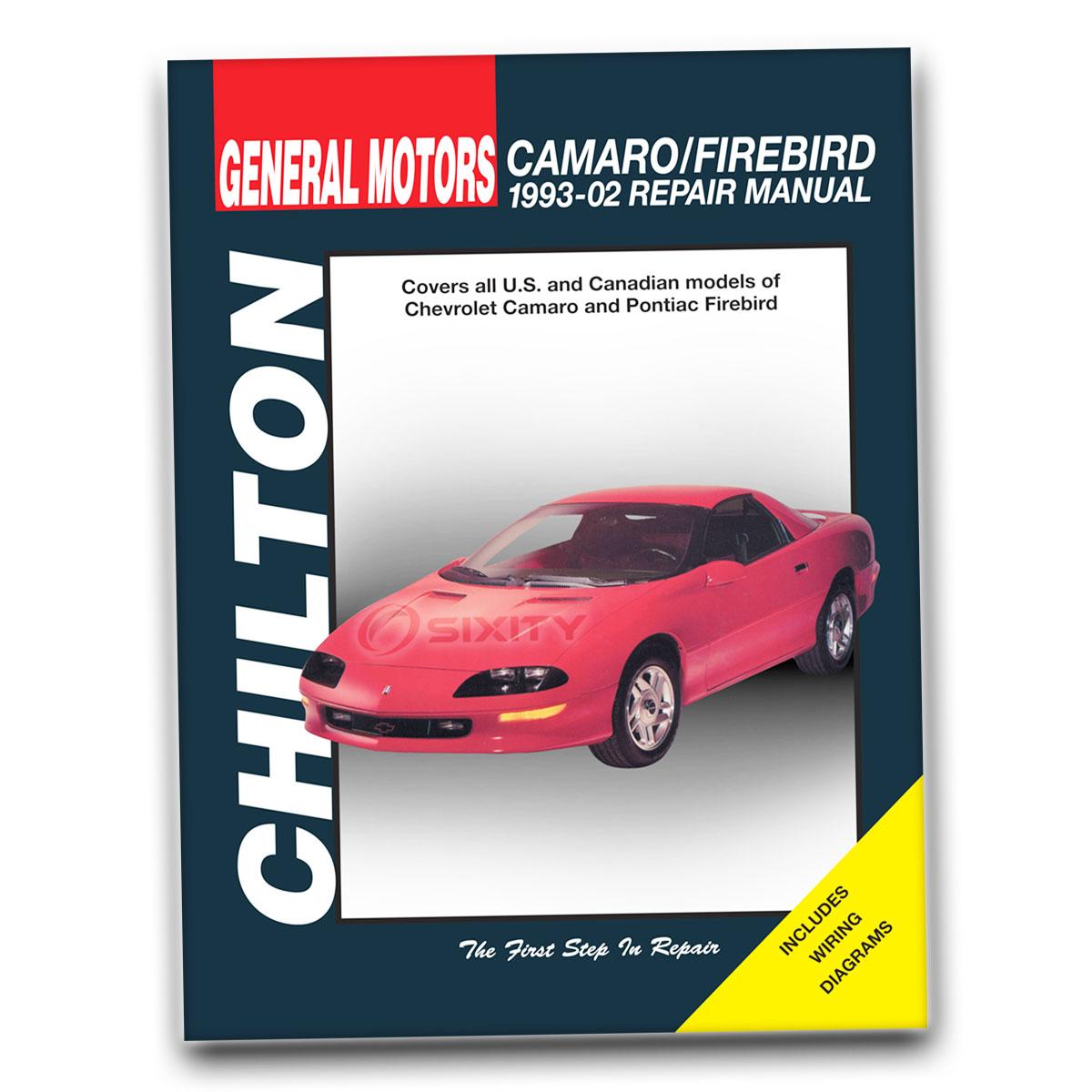 Chilton Chevrolet Camaro Firebird 1993