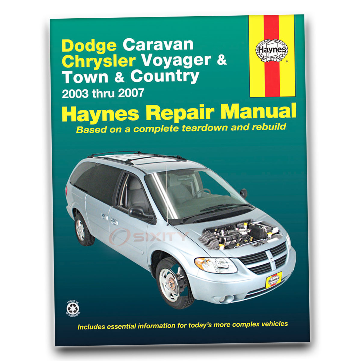 Haynes Repair Manual 30013 for Dodge Caravan Chrysler Voyager Town Country  tm