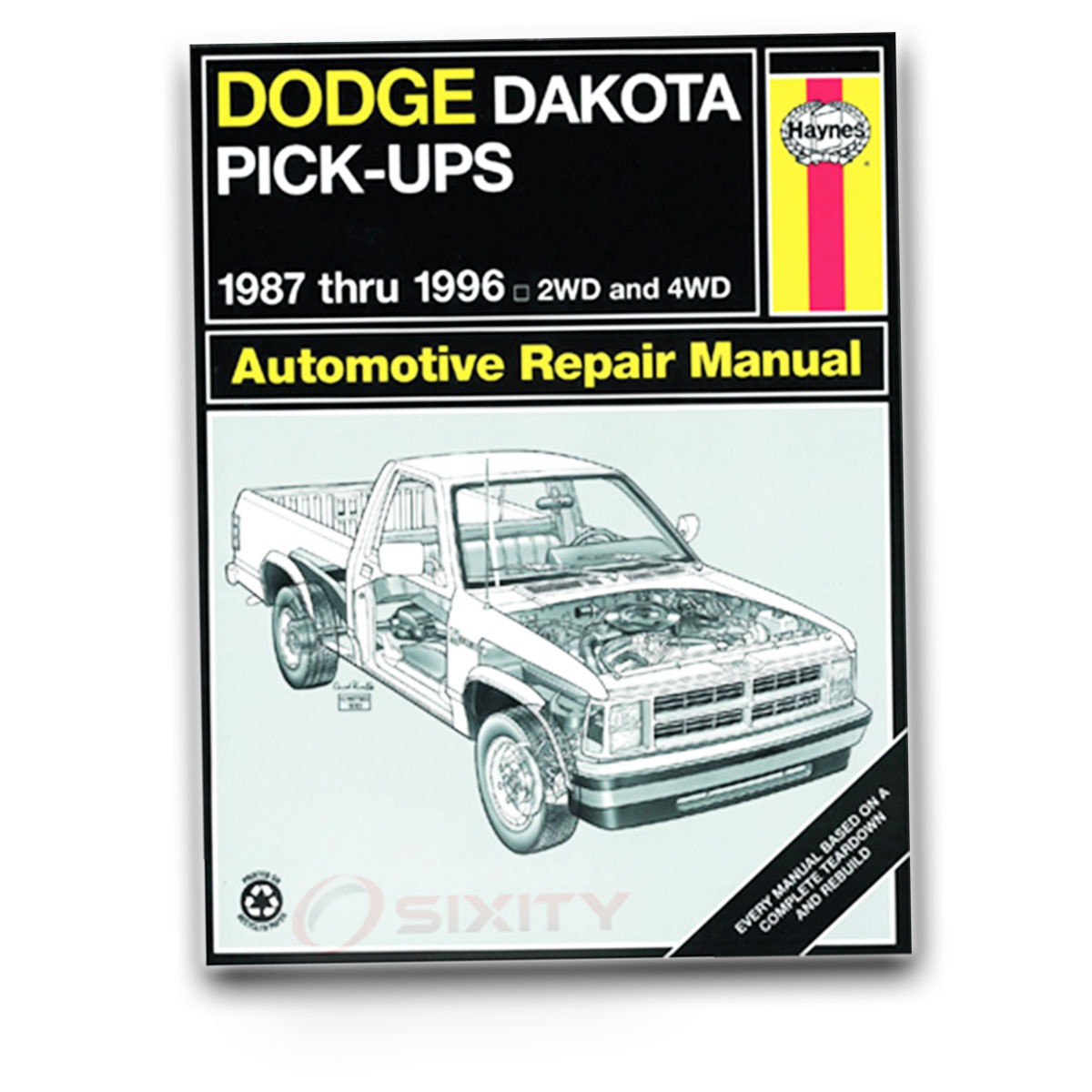 Haynes Repair Manual 30020 for Dodge Dakota Pick-up 87-96 Shop Service kj