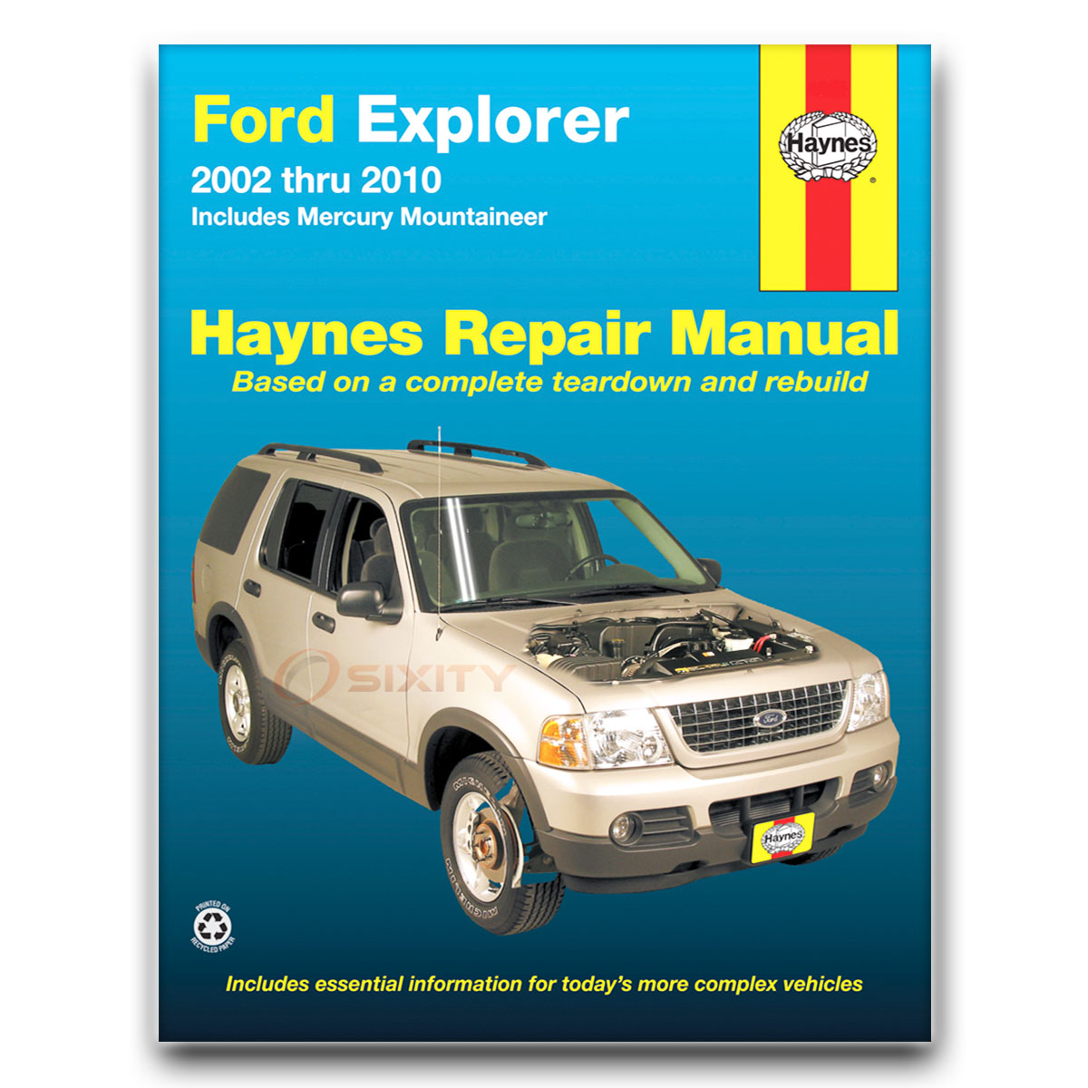 haynes ford explorer mercury mountaineer 02 10 repair manual 36025 rh ebay com 2010 ford escape workshop manual 2010 ford escape repair manual