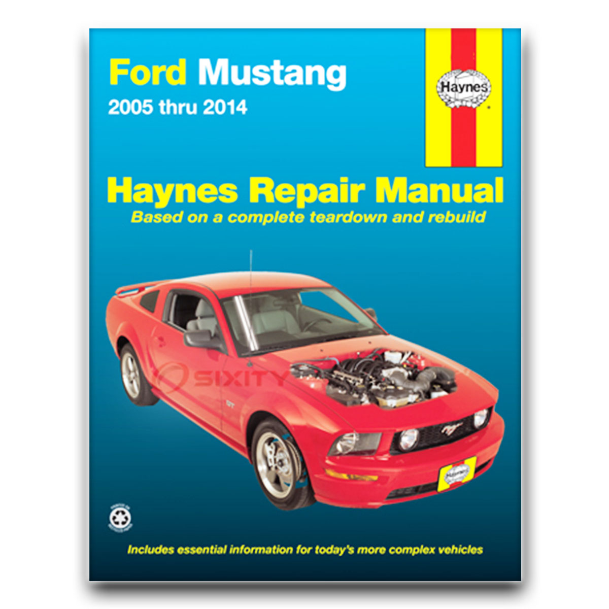 haynes ford mustang 05 10 repair manual 36052 shop service garage rh ebay com 2005 mustang service manual download 2005 Mustang Manual Interior