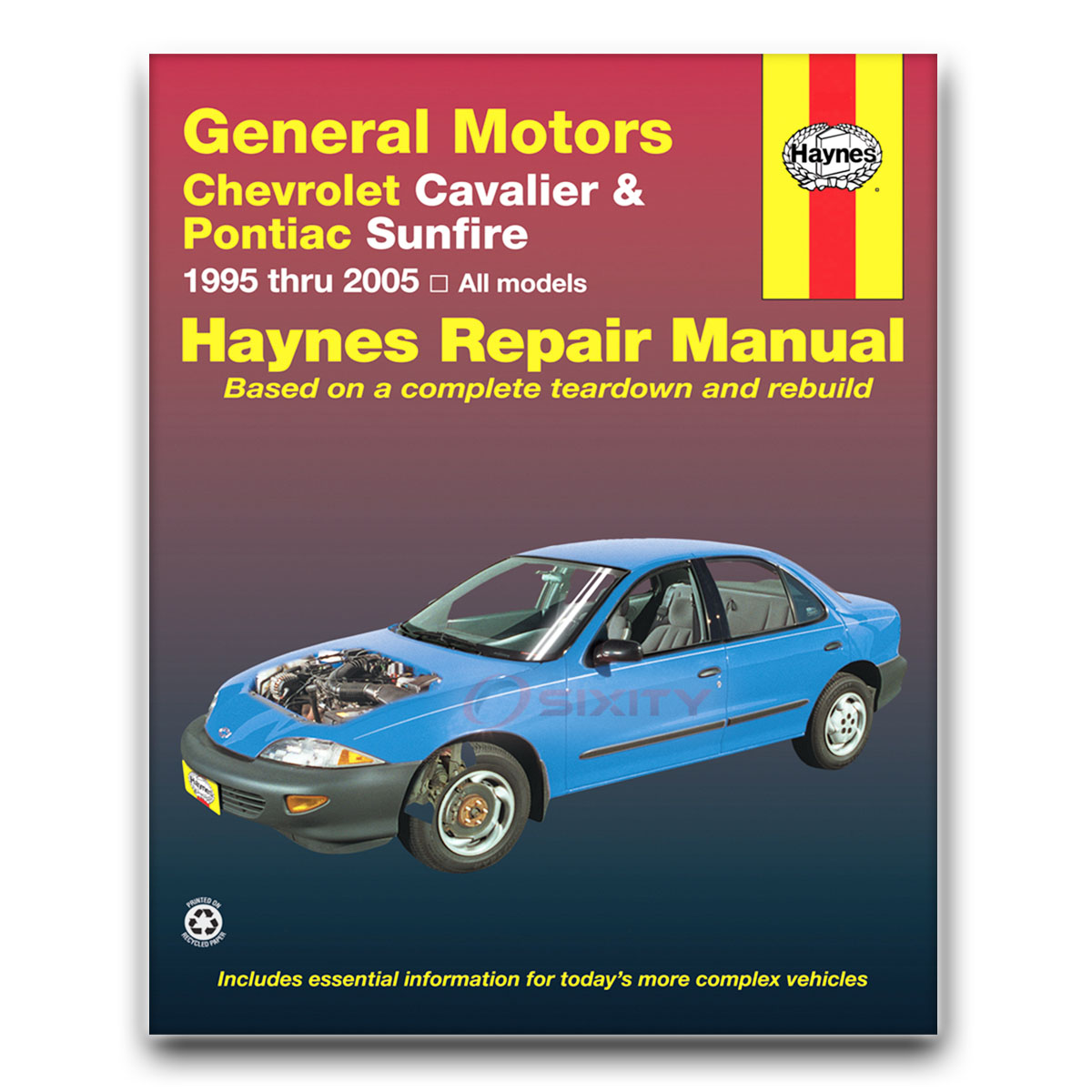 Haynes Repair Manual 38016 for GM Chevrolet Cavalier Pontiac Sunfire 95-05  ov