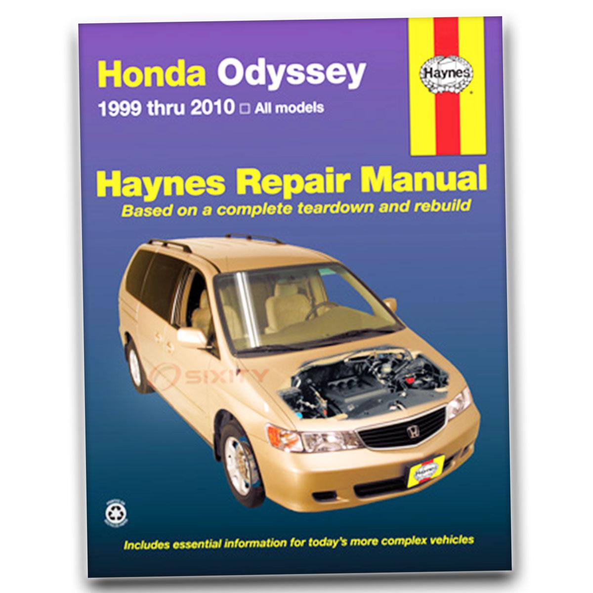 Honda Odyssey Repair Manual Online