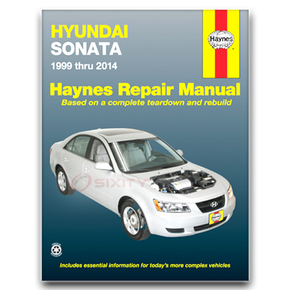 Haynes Repair Manual 43055 for Hyundai Sonata 99-08 Shop Service Garage  Book vz