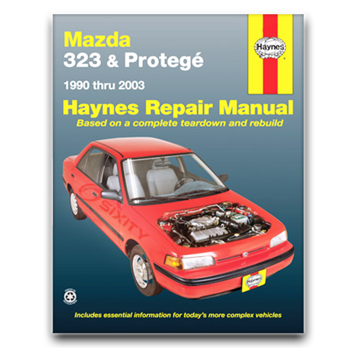 Haynes Repair Manual 61015 for Mazda 323 Protege 90-03 Shop Service Garage  px