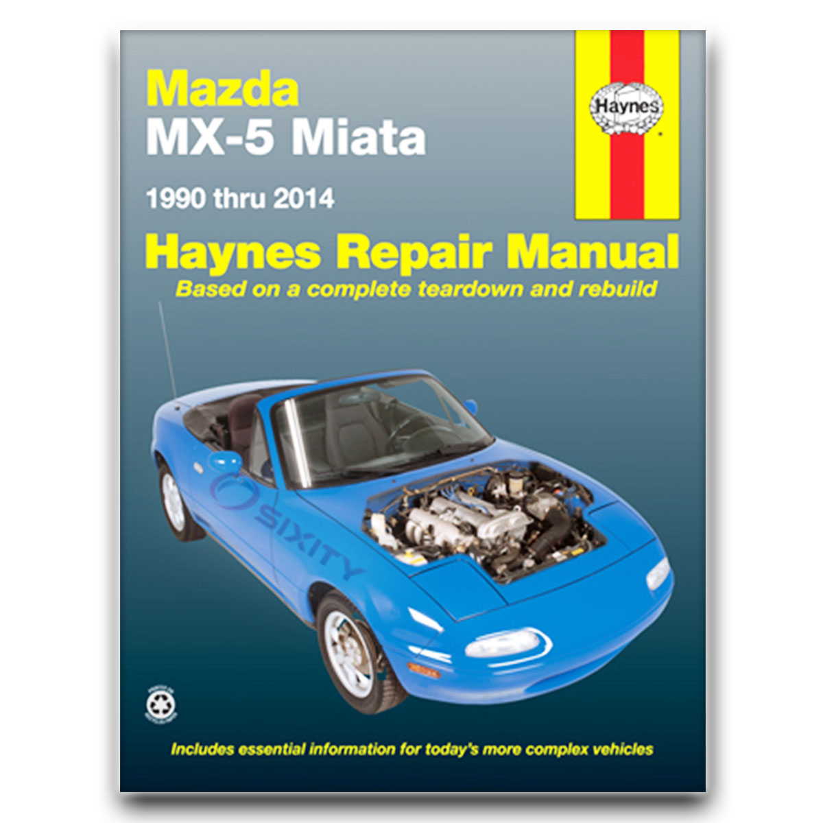 Haynes 61016 Repair Manual Mazda Mx