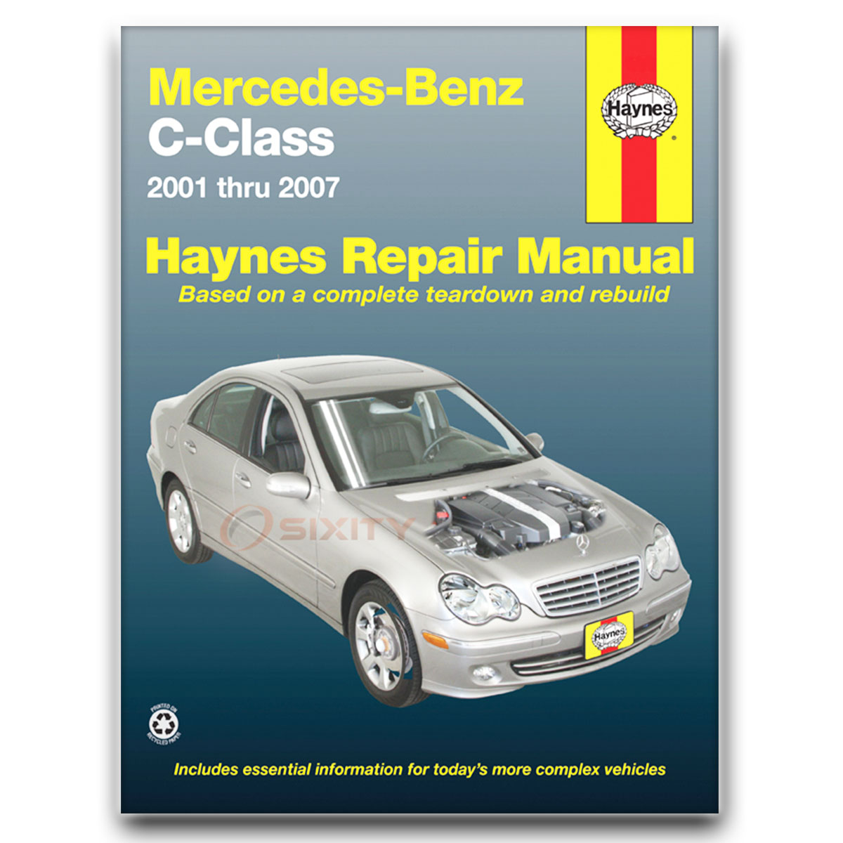 Haynes Repair Manual 63040 for Mercedes Benz C-Class 01-07 Shop Service pq