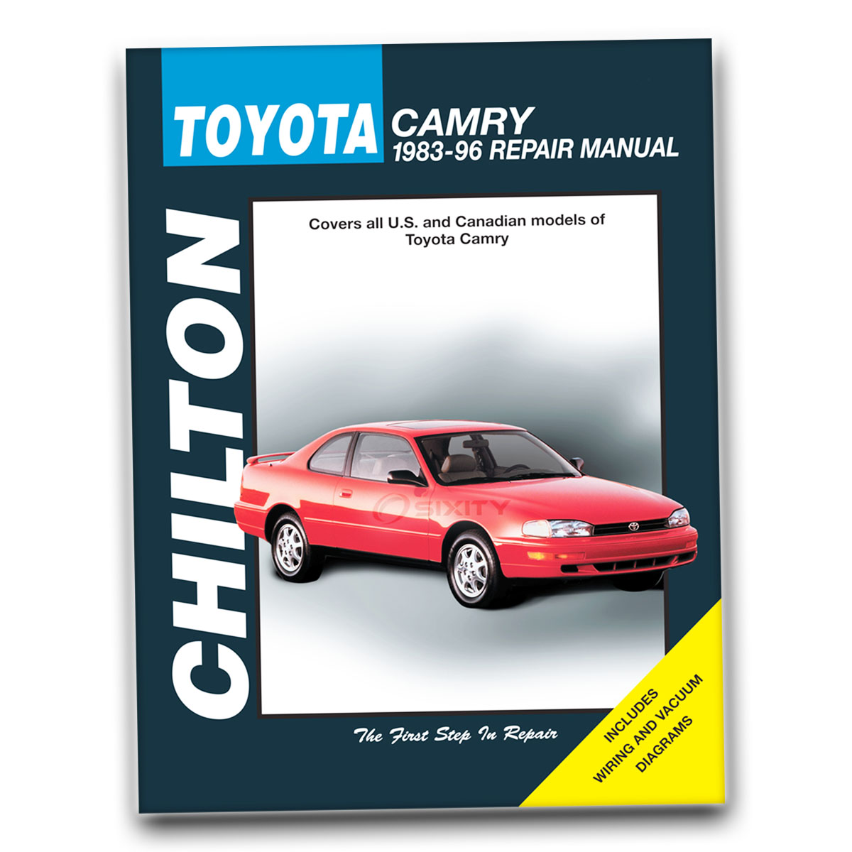 chilton toyota camry 1983 96 repair manual 68200 shop service garage book fp ebay. Black Bedroom Furniture Sets. Home Design Ideas
