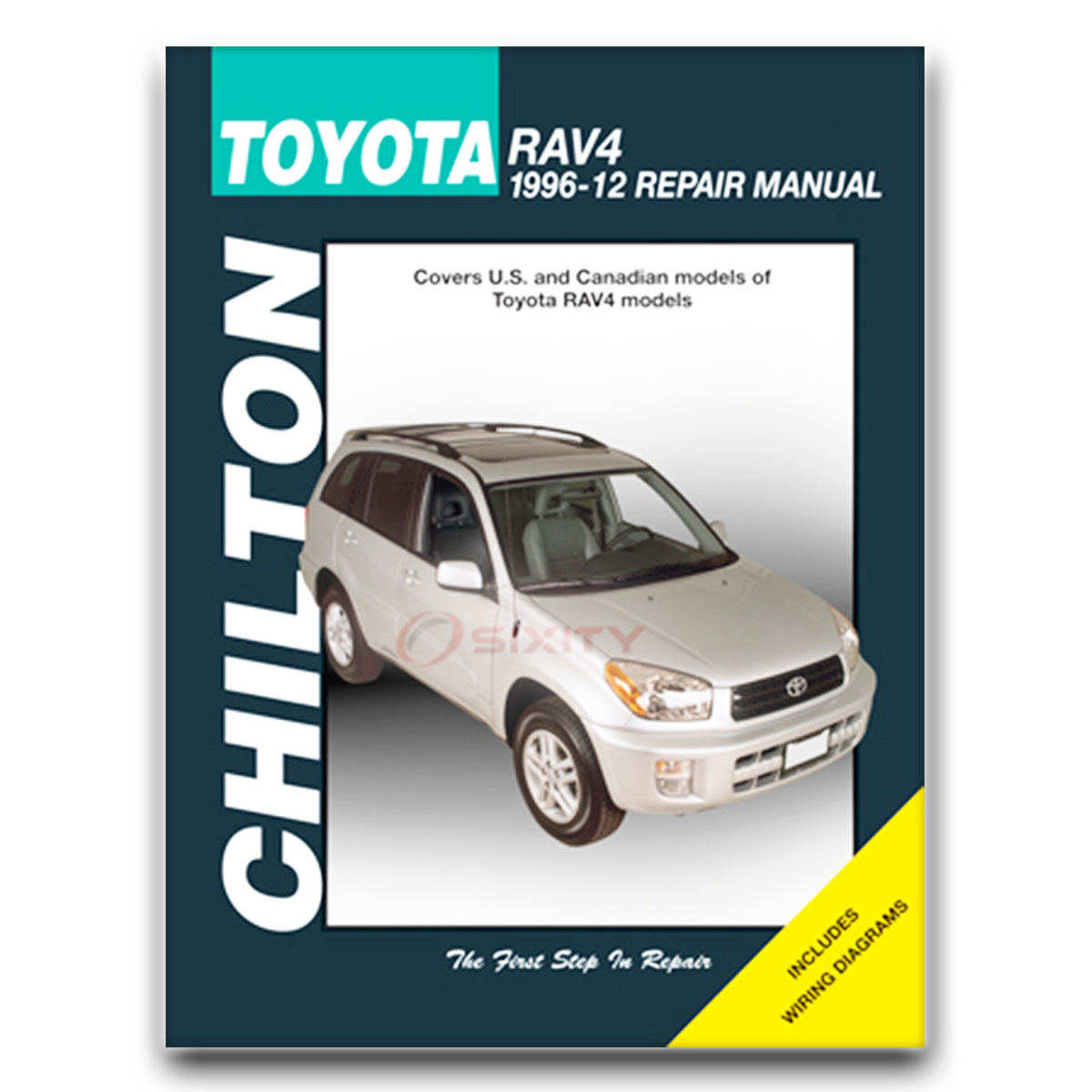 Chilton Repair Manual 68670 for Toyota RAV4 1996-10 Shop Service Garage  Book rx