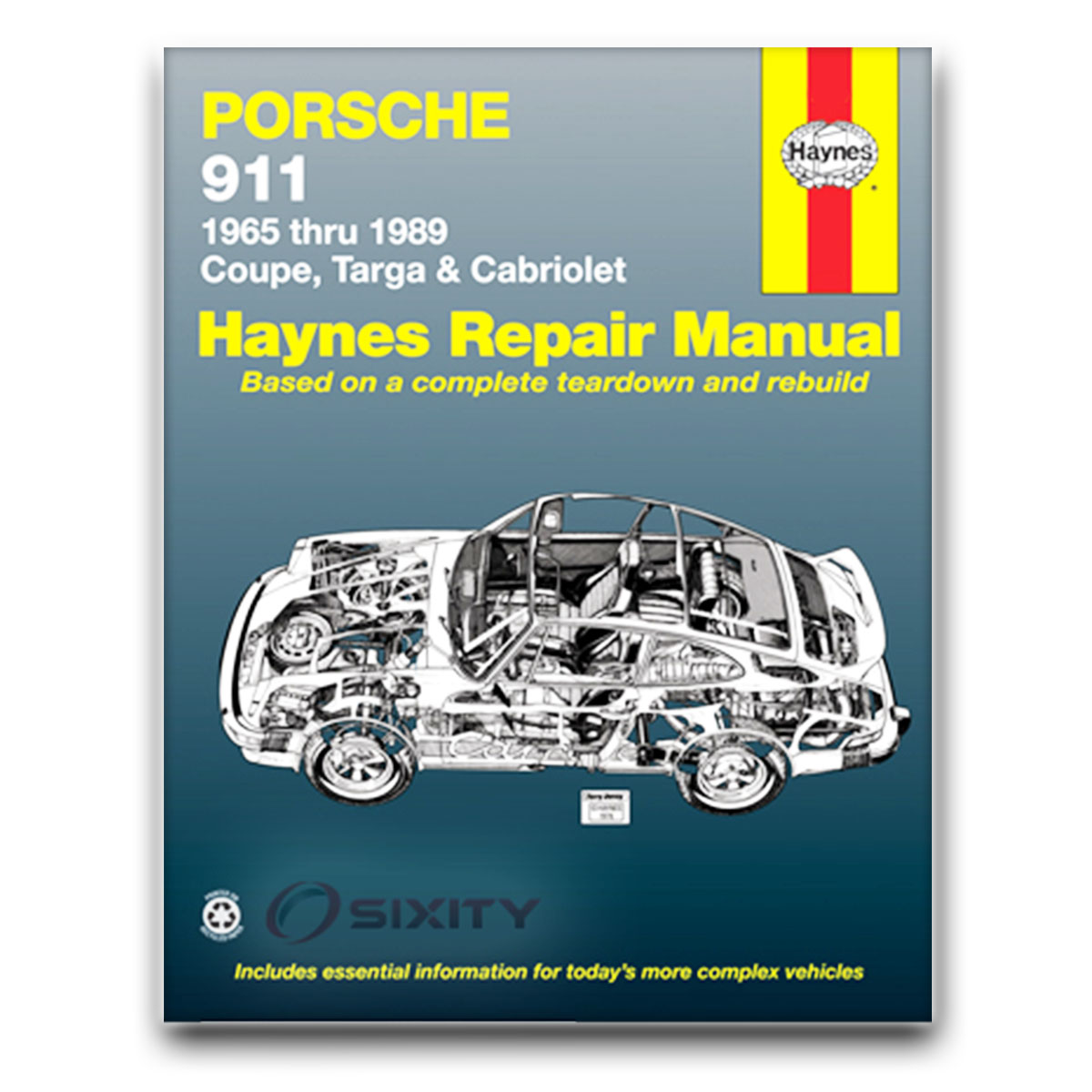 haynes porsche 911 65 89 repair manual 80020 shop service. Black Bedroom Furniture Sets. Home Design Ideas