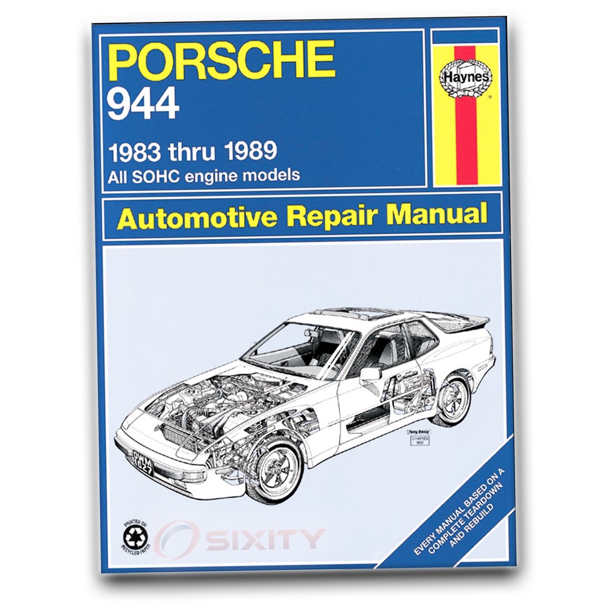 haynes porsche 924s 944 83 89 repair manual 80035 shop service rh ebay com haynes manual porsche 924 pdf haynes manual porsche 924