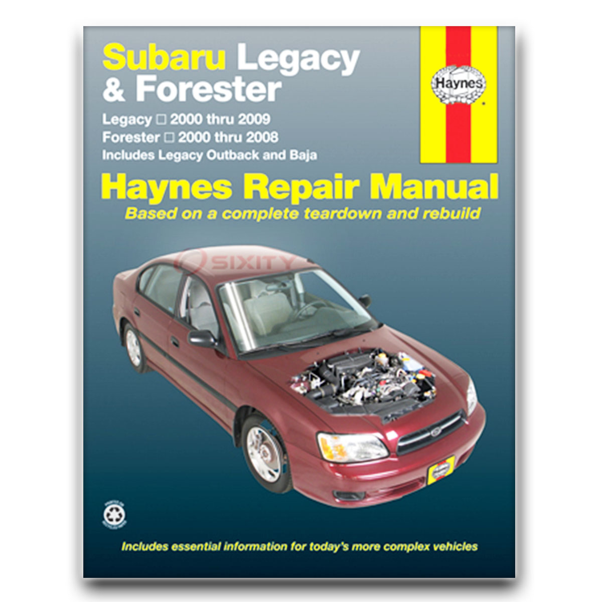 haynes subaru legacy 00 09 forester 00 08 repair manual 89101 shop rh ebay com subaru outback shop manual pdf subaru shop manual printed helm