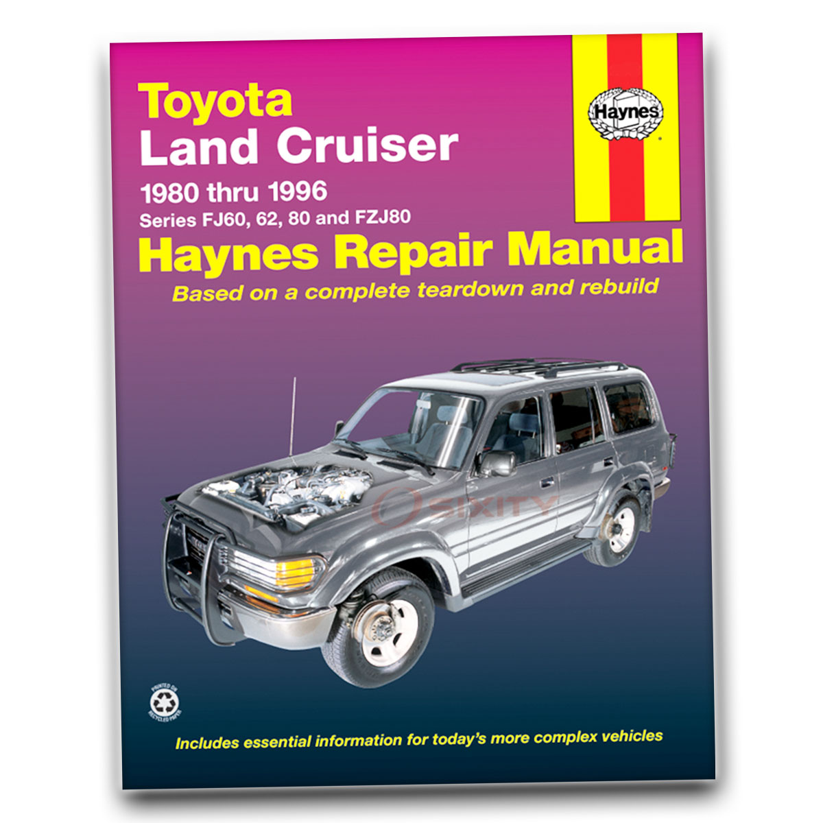 haynes repair manual 92056 for toyota land cruiser fj60 62 80 fzj80 rh ebay com Haynes Repair Manual Spark Plugs Haynes Repair Manuals PDF