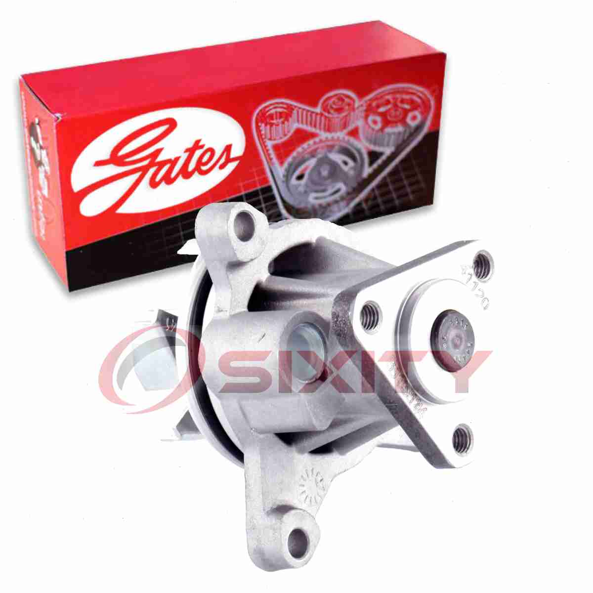 Standard Engine Water Pump-Water Pump Gates 41120