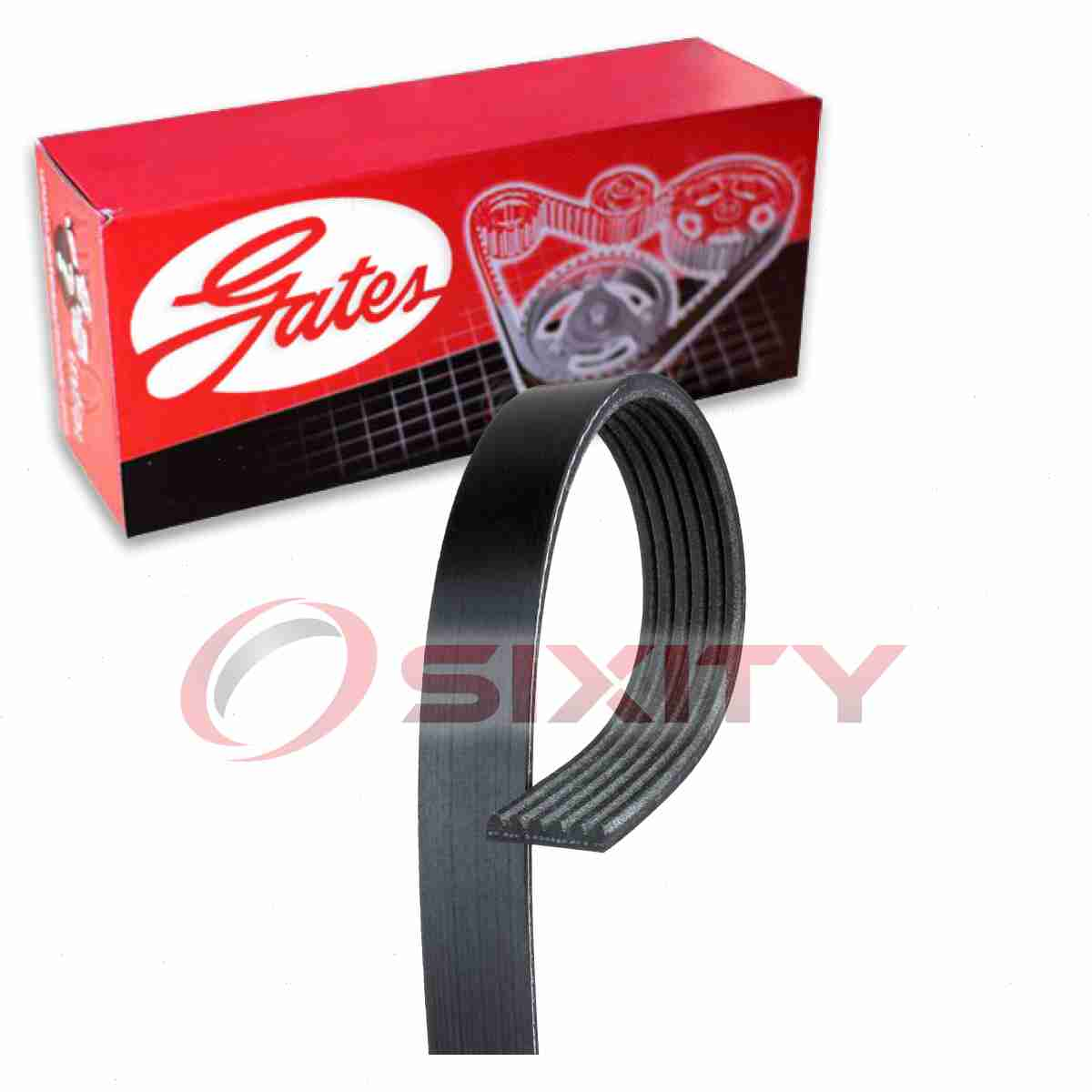 Gates Premium OE Micro-V Belt -K060913 Serpentine Belt