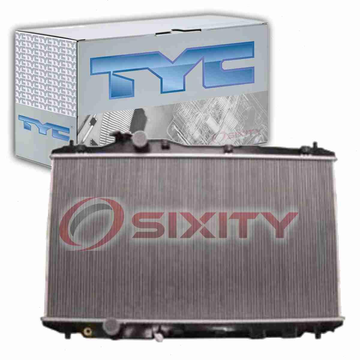 TYC Radiator Assembly for 2014-2016 Mazda 3 2.0L L4 2.5L L4 ws