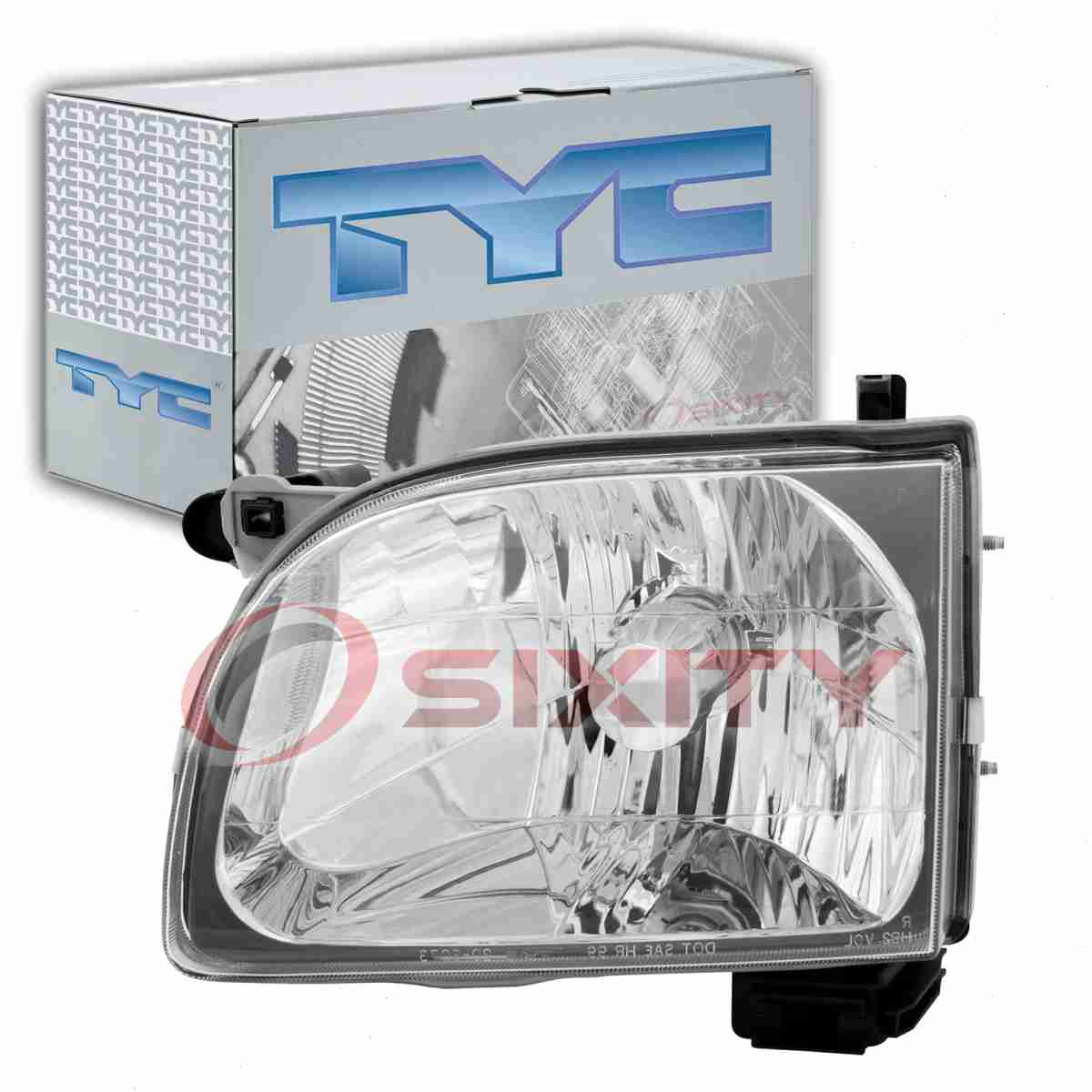 TYC 20-6074-00-1 Headlight Assembly for TO2502136 Partslink tv