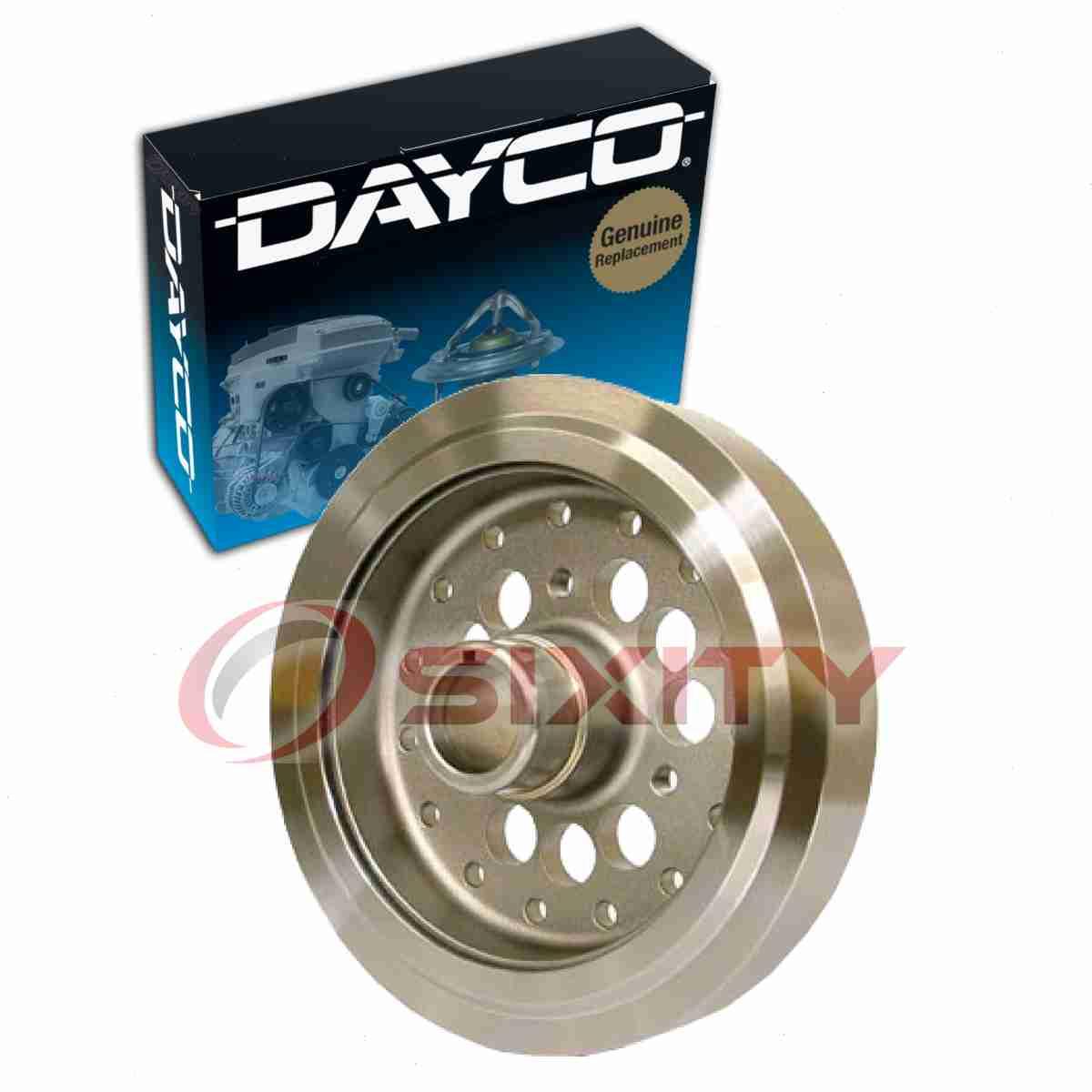 Dayco-PB1046SS-Powerbond-Race-Harmonic-Balancer-Engine-Crankshaft-Damper-qx