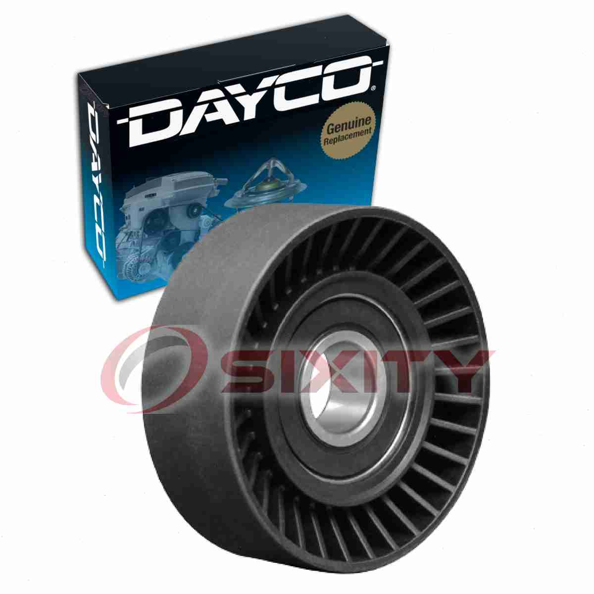 Dayco 89140 Drive Belt Idler Pulley for 231140 36181 GSP89004 MD310150 wr
