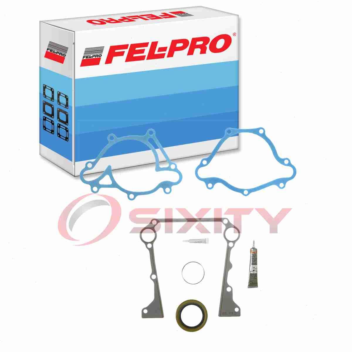 Fel-Pro TCS 46108 Timing Cover Gasket Set FelPro TCS46108 Engine Sealing zh