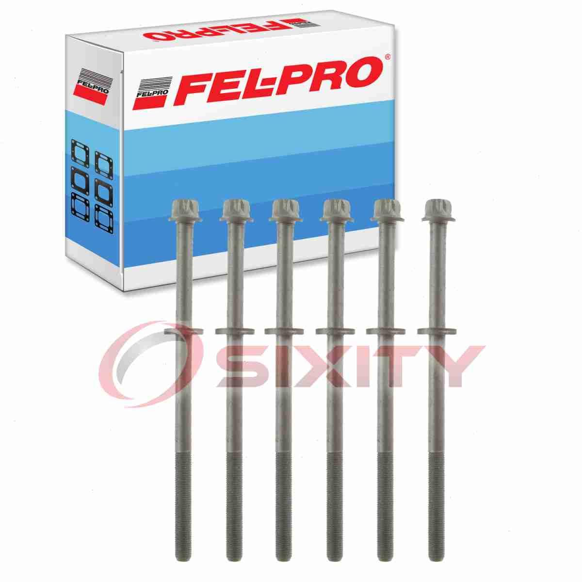 Engine Piston Block fd Fel-Pro ES 72212 Cylinder Head Bolt Set FelPro ES72212