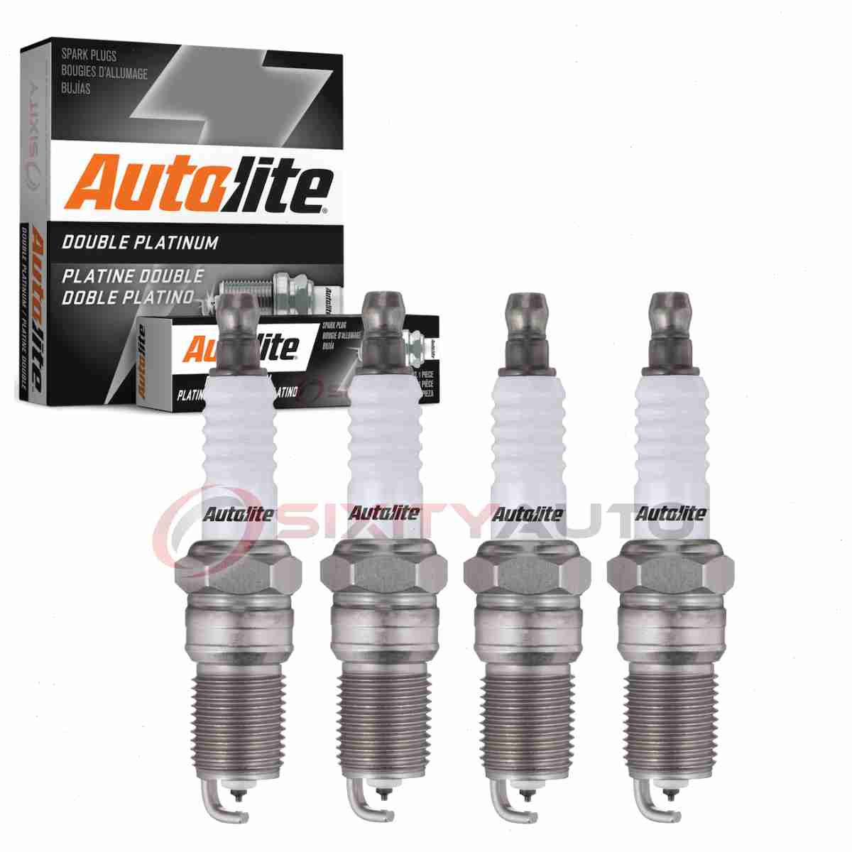 4 pcs Bosch Double Iridium Spark Plugs For 2019 FORD RANGER L4-2.3L